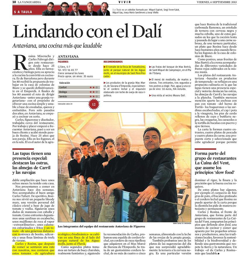 Blog Tomatissims Tomatissims en La Vanguardia